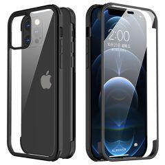 Valenta Full Cover 360° Tempered Glass iPhone 12 Pro Max - Zwart