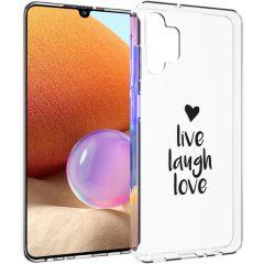 iMoshion Design hoesje Samsung Galaxy A32 (4G) - Live Laugh Love