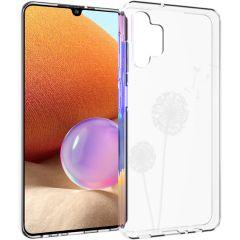 iMoshion Design hoesje Samsung Galaxy A32 (4G) - Paardenbloem - Wit