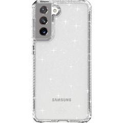 Itskins Hybrid Spark Backcover Samsung Galaxy S21 - Transparant