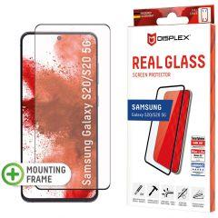 Displex Screenprotector Real Glass Fingerprint Sensor Samsung Galaxy S20