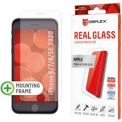 Displex Screenprotector Real Glass iPhone SE (2020) / 8 / 7 / 6(s)