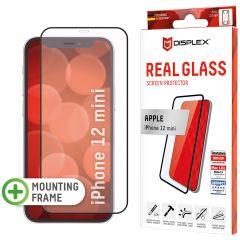 Displex Screenprotector Real Glass Full Cover iPhone 12 Mini - Zwart