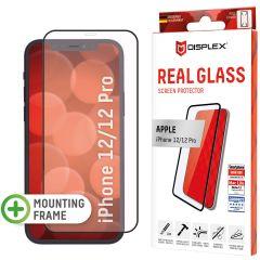 Displex Screenprotector Real Glass Full Cover iPhone 12 (Pro) - Zwart