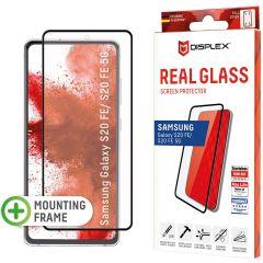 Displex Screenprotector Real Glass Full Cover Samsung Galaxy S20 FE - Zwart