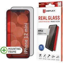 Displex Screenprotector Privacy Glass Full Cover iPhone 12 Mini - Zwart