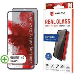 Displex Screenprotector Privacy Glass Full Cover Samsung Galaxy S21 Plus - Zwart