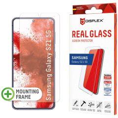 Displex Screenprotector Real Glass Fingerprint Sensor Samsung Galaxy S21