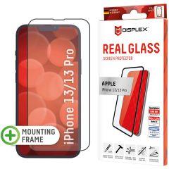 Displex Screenprotector Real Glass Full Cover iPhone 13 / 13 Pro - Zwart
