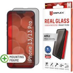 Displex Screenprotector Privacy Glass Full Cover iPhone 13 / 13 Pro - Zwart