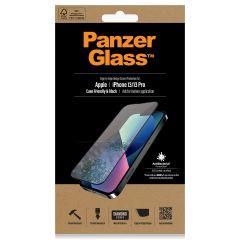 PanzerGlass Anti-Bacterial Case Friendly Screenprotector iPhone 13 / 13 Pro - Zwart