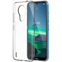 Nokia Clear Case Nokia 1.4 - Transparant