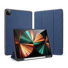 Dux Ducis Domo Bookcase iPad Pro 12.9 (2021) - Donkerblauw