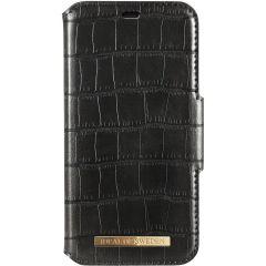 iDeal of Sweden Capri Wallet Booktype iPhone 11 Pro Max - Black Croco