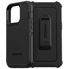 OtterBox Defender Rugged Backcover iPhone 13 Pro - Zwart