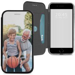 iPhone SE (2020) / 8 / 7 booktype ontwerpen (eenzijdig)