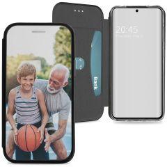 Samsung Galaxy S20 gel booktype ontwerpen (eenzijdig)