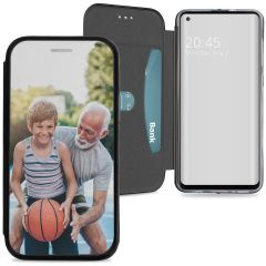 Samsung Galaxy A21s gel booktype ontwerpen (eenzijdig)