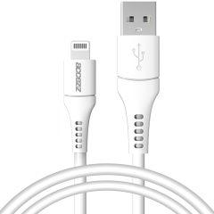 Accezz MFI Certified Lightning naar USB kabel - 1 meter - Wit