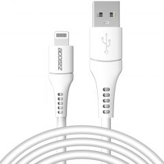 Accezz MFI Certified Lightning naar USB kabel - 2 meter - Wit