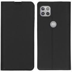 iMoshion Slim Folio Book Case Motorola Moto G 5G - Zwart