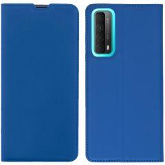 iMoshion Slim Folio Book Case Huawei P Smart (2021) - Donkerblauw