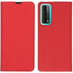 iMoshion Slim Folio Book Case Huawei P Smart (2021) - Rood