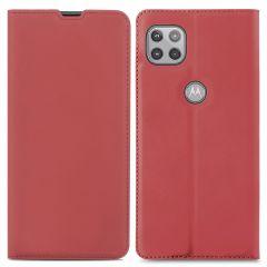 iMoshion Slim Folio Book Case Motorola Moto G 5G - Rood