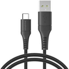 iMoshion Braided USB-C naar USB kabel - 1,5 meter - Zwart