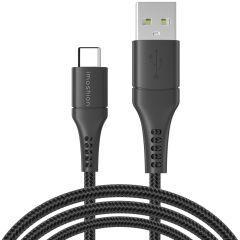 iMoshion Braided USB-C naar USB kabel - 3 meter - Zwart