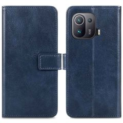 iMoshion Luxe Booktype Xiaomi Mi 11 Pro - Donkerblauw