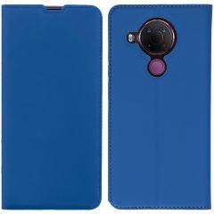 iMoshion Slim Folio Book Case Nokia 5.4 - Donkerblauw