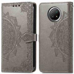 iMoshion Mandala Booktype Xiaomi Redmi Note 9T (5G) - Grijs