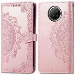 iMoshion Mandala Booktype Xiaomi Redmi Note 9T (5G) - Rosé Goud