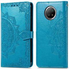 iMoshion Mandala Booktype Xiaomi Redmi Note 9T (5G) - Turquoise