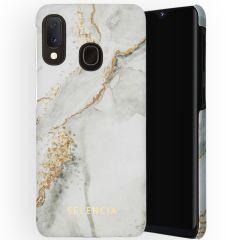 Selencia Maya Fashion Backcover Samsung Galaxy A20e - Marble Stone