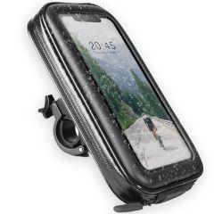 Accezz Universele telefoonhouder fiets - Zwart
