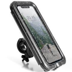 Accezz Universele telefoonhouder fiets Pro - Zwart