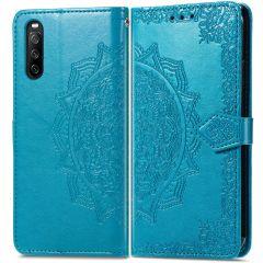 iMoshion Mandala Booktype Sony Xperia 10 III - Lichtblauw