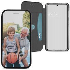 Samsung Galaxy S21 gel booktype ontwerpen (eenzijdig)