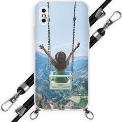 Ontwerp je eigen hoesje met koord iPhone Xs / X