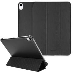 Selencia Kesia Slang Trifold Book Case iPad Air (2020) - Zwart
