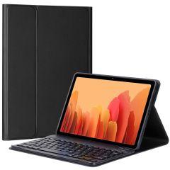 Accezz AZERTY Bluetooth Keyboard Bookcase Samsung Galaxy Tab A7