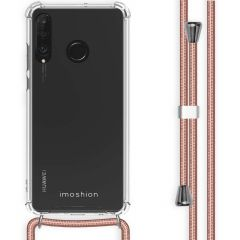 iMoshion Backcover met koord Huawei P30 Lite - Rosé Goud