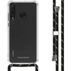 iMoshion Backcover met koord Huawei P30 Lite - Zwart Goud