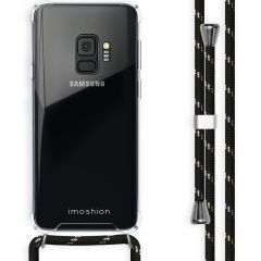iMoshion Backcover met koord Samsung Galaxy S9 - Zwart Goud