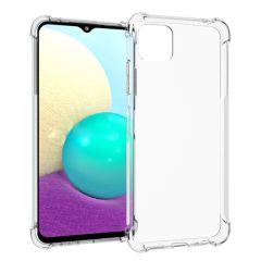iMoshion Shockproof Case Samsung Galaxy A22 (5G) - Transparant