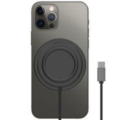 Accezz USB-C naar MagSafe Wireless Charger Anti Slip - Zwart