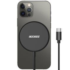 Accezz USB-C to MagSafe Wireless Charger - 15W - Zwart