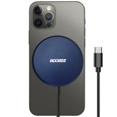 Accezz USB-C to MagSafe Wireless Charger - 15W - Blauw